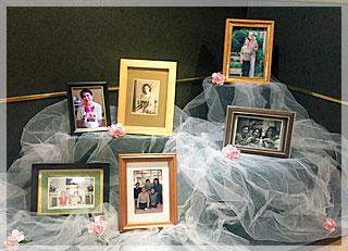 故人様の若い頃からのお写真や家族写真