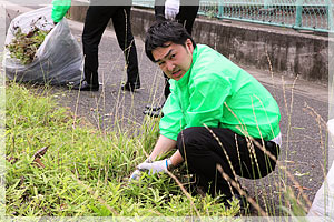 ボランティア清掃活動