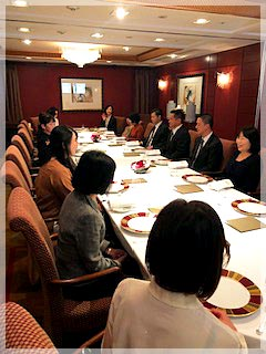 帝国ホテルでの研修会に参加しました。